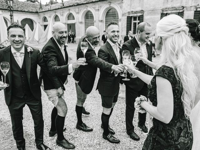 Il matrimonio di Simone e Lisa a Martellago, Venezia 149