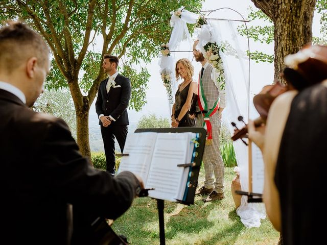 Il matrimonio di Stefan e Miriam a Pian di Sco, Arezzo 10