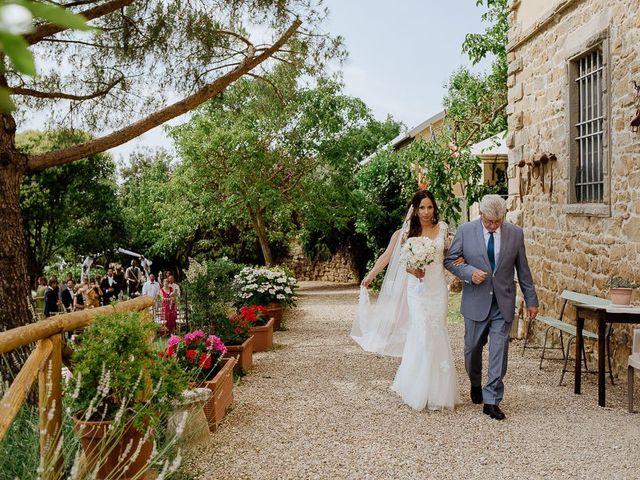 Il matrimonio di Stefan e Miriam a Pian di Sco, Arezzo 15