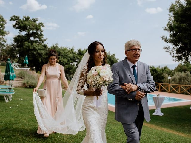 Il matrimonio di Stefan e Miriam a Pian di Sco, Arezzo 17