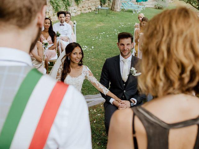 Il matrimonio di Stefan e Miriam a Pian di Sco, Arezzo 22