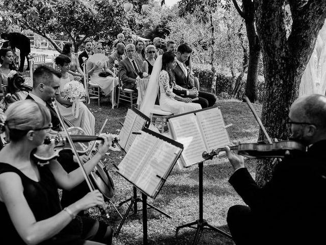 Il matrimonio di Stefan e Miriam a Pian di Sco, Arezzo 26