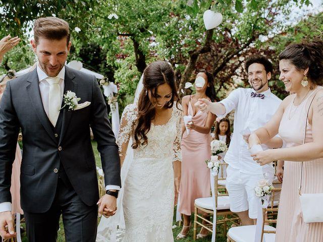 Il matrimonio di Stefan e Miriam a Pian di Sco, Arezzo 34