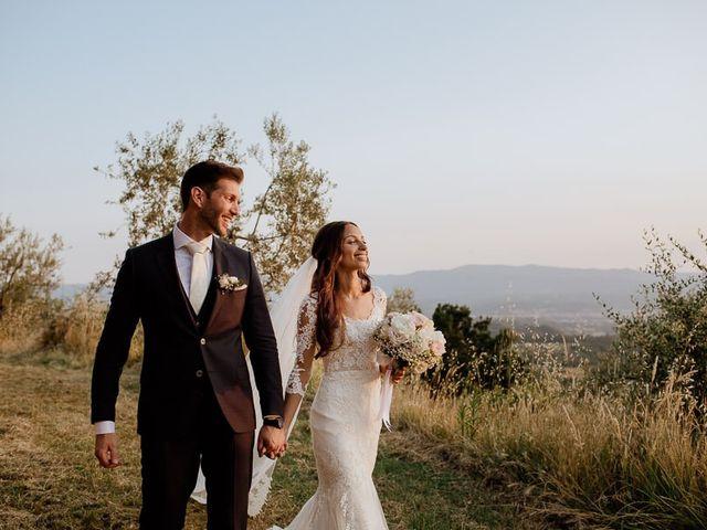 Il matrimonio di Stefan e Miriam a Pian di Sco, Arezzo 42