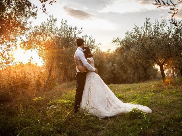 Il matrimonio di Valentino e Giulia a Todi, Perugia 70
