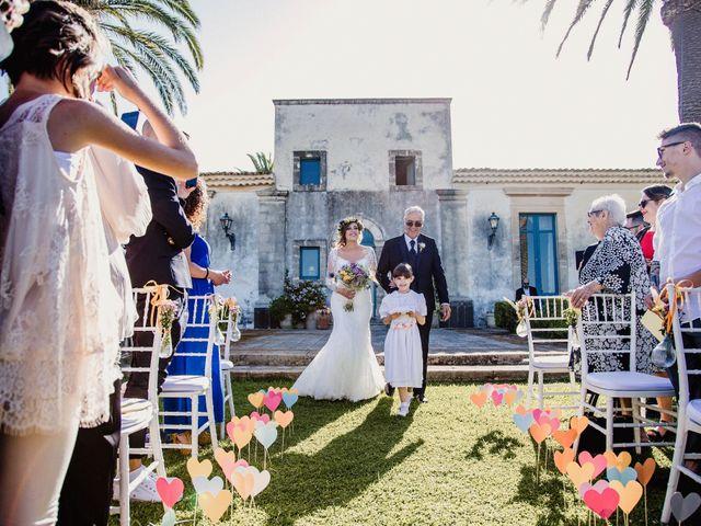 Il matrimonio di Graziano e Greta a Augusta, Siracusa 23
