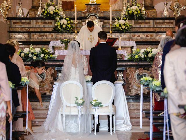 Il matrimonio di Mattia e Denise a Gattico, Novara 32