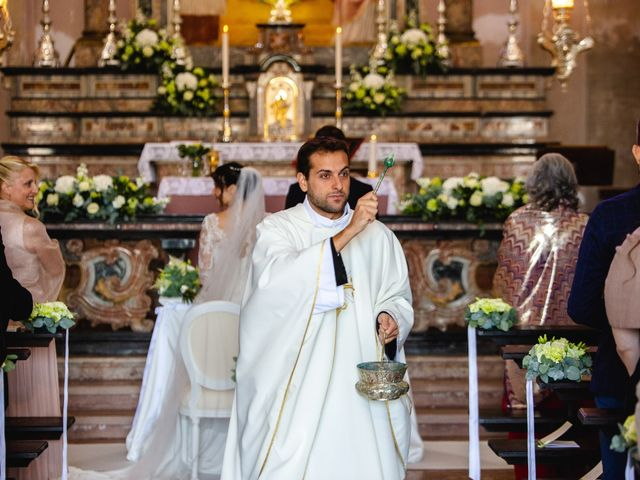 Il matrimonio di Mattia e Denise a Gattico, Novara 33