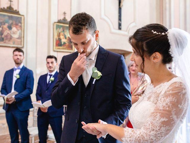 Il matrimonio di Mattia e Denise a Gattico, Novara 41