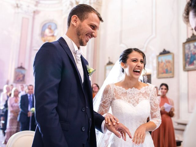 Il matrimonio di Mattia e Denise a Gattico, Novara 44