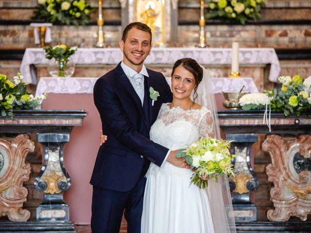 Il matrimonio di Mattia e Denise a Gattico, Novara 54