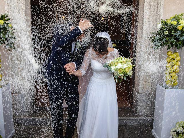 Il matrimonio di Mattia e Denise a Gattico, Novara 55