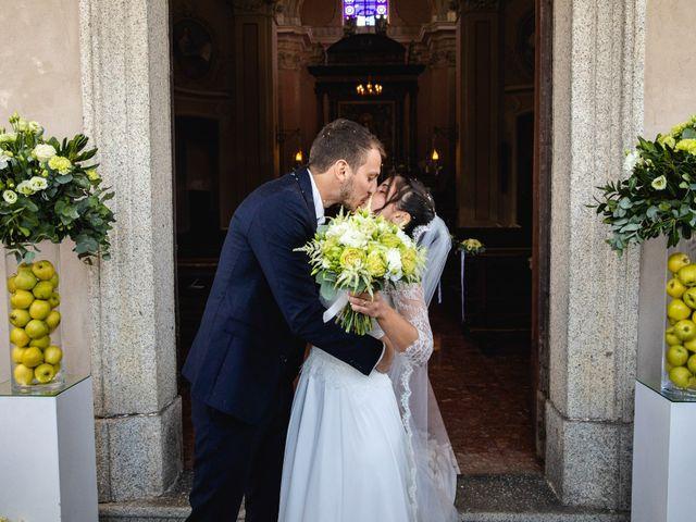 Il matrimonio di Mattia e Denise a Gattico, Novara 57