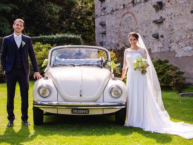 Il matrimonio di Mattia e Denise a Gattico, Novara 58
