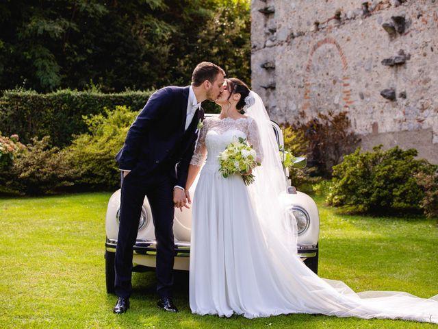 Il matrimonio di Mattia e Denise a Gattico, Novara 59