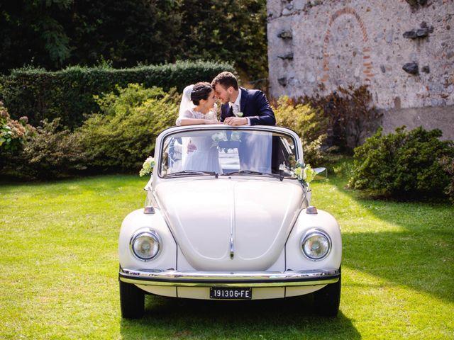 Il matrimonio di Mattia e Denise a Gattico, Novara 60