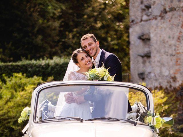 Il matrimonio di Mattia e Denise a Gattico, Novara 61