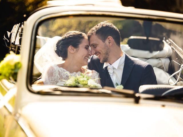 Il matrimonio di Mattia e Denise a Gattico, Novara 64