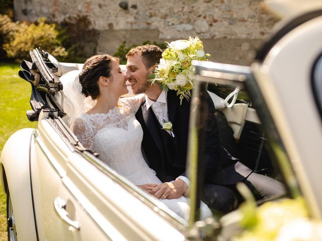 Il matrimonio di Mattia e Denise a Gattico, Novara 67