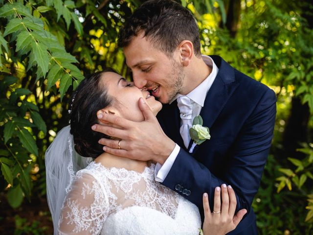 Il matrimonio di Mattia e Denise a Gattico, Novara 70