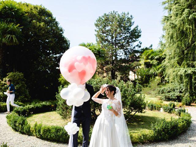 Il matrimonio di Mattia e Denise a Gattico, Novara 75