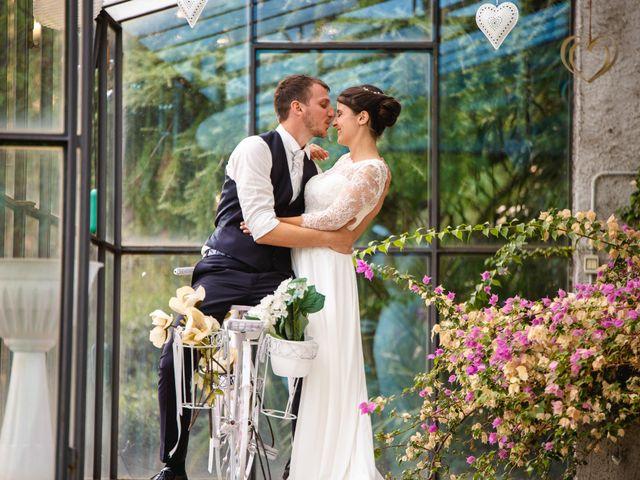 Il matrimonio di Mattia e Denise a Gattico, Novara 105