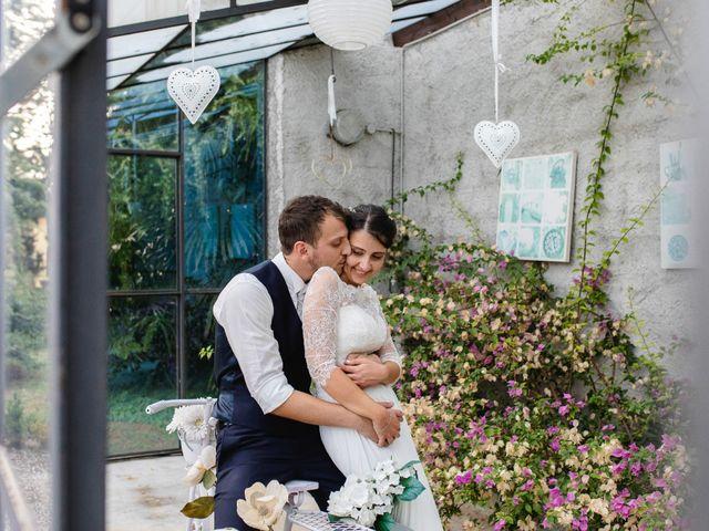 Il matrimonio di Mattia e Denise a Gattico, Novara 107