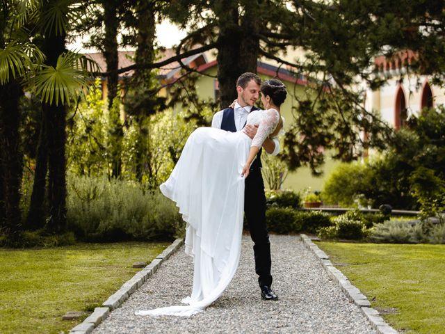 Il matrimonio di Mattia e Denise a Gattico, Novara 110