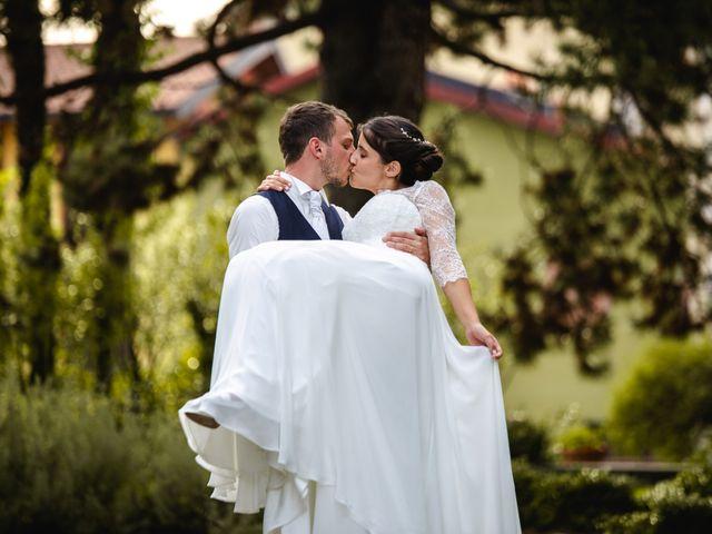 Il matrimonio di Mattia e Denise a Gattico, Novara 111