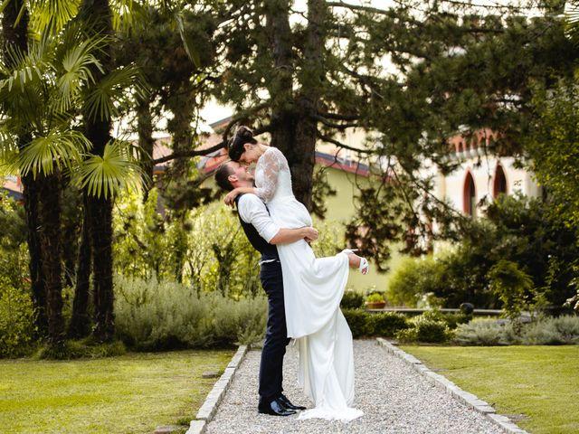 Il matrimonio di Mattia e Denise a Gattico, Novara 112