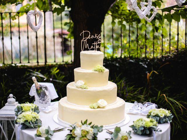 Il matrimonio di Mattia e Denise a Gattico, Novara 115