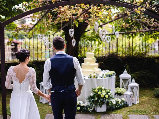 Il matrimonio di Mattia e Denise a Gattico, Novara 117