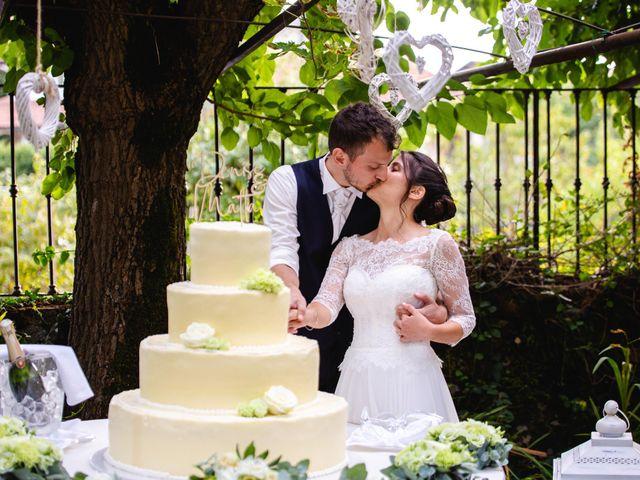 Il matrimonio di Mattia e Denise a Gattico, Novara 118