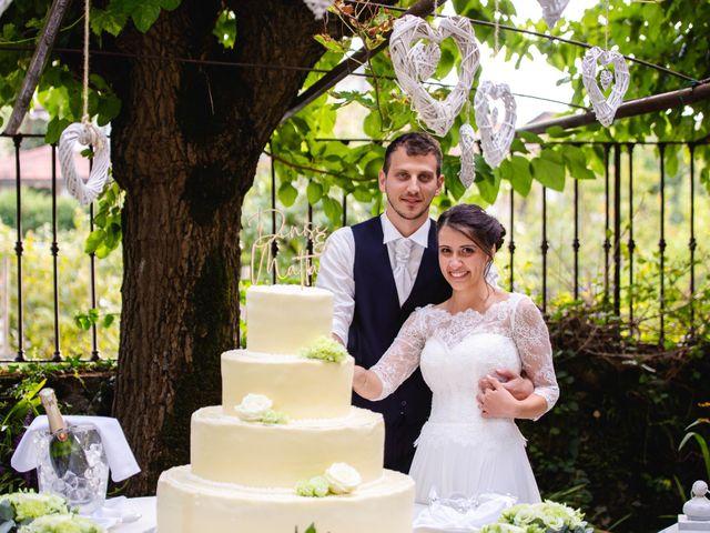Il matrimonio di Mattia e Denise a Gattico, Novara 119