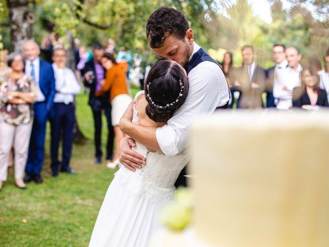 Il matrimonio di Mattia e Denise a Gattico, Novara 122