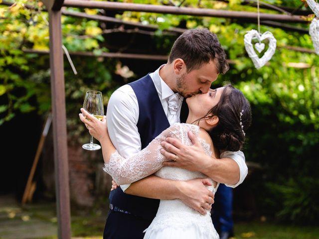 Il matrimonio di Mattia e Denise a Gattico, Novara 123