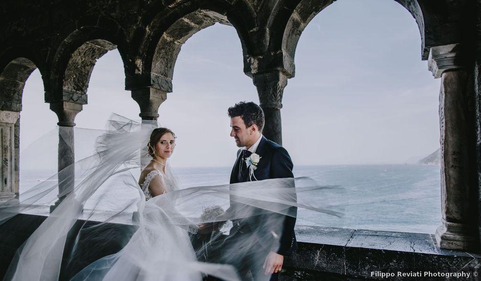 Il matrimonio di Mattia e Maria Elena a Portovenere, La Spezia