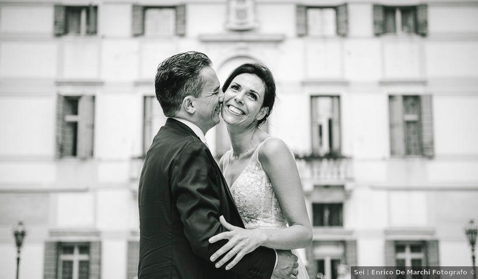 Il matrimonio di Simone e Lisa a Martellago, Venezia