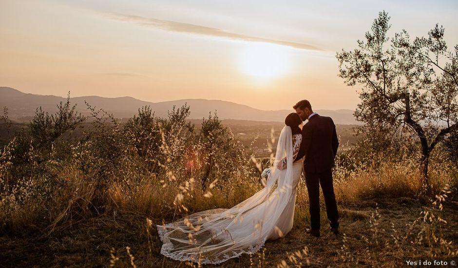 Il matrimonio di Stefan e Miriam a Pian di Sco, Arezzo