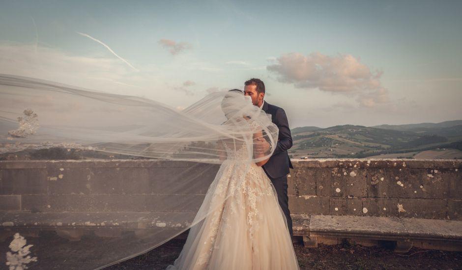 Il matrimonio di Valentino e Giulia a Todi, Perugia
