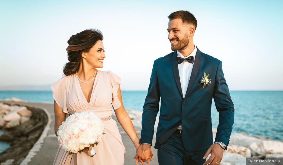 Il matrimonio di Luciano e Valentina a Gaeta, Latina