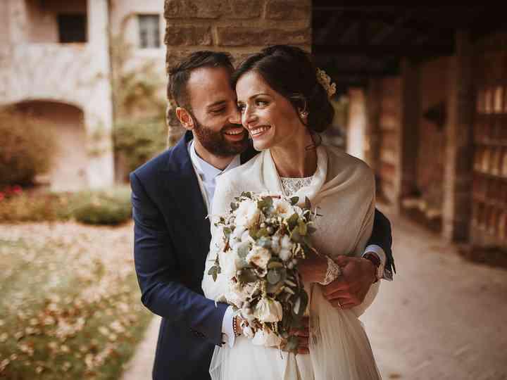 le nozze di Giorgia e Marco