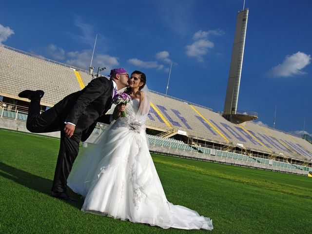 le nozze di Samuele e Elisa