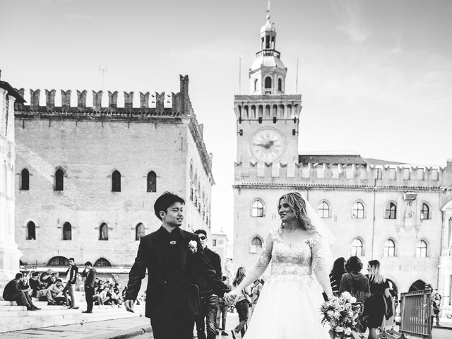 Il matrimonio di Yazu e Barbara a Bologna, Bologna 13
