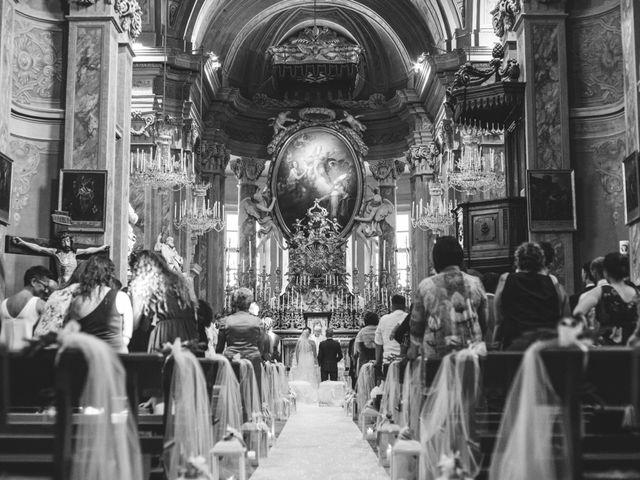 Il matrimonio di Andrea e Elena a Buriasco, Torino 1