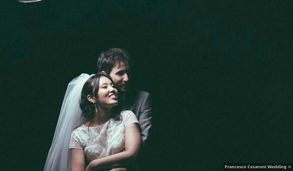 Il matrimonio di Tomomi e Leonardo a Cingoli, Macerata
