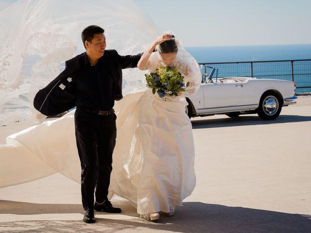 Il matrimonio di Giampietro e Ziwei a Trieste, Trieste 13