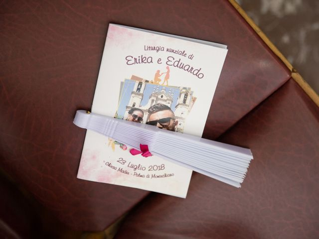 Le nozze di Erika e Eduardo