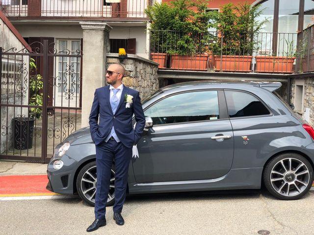 Il matrimonio di Elia e Francesca a Nebbiuno, Novara 2