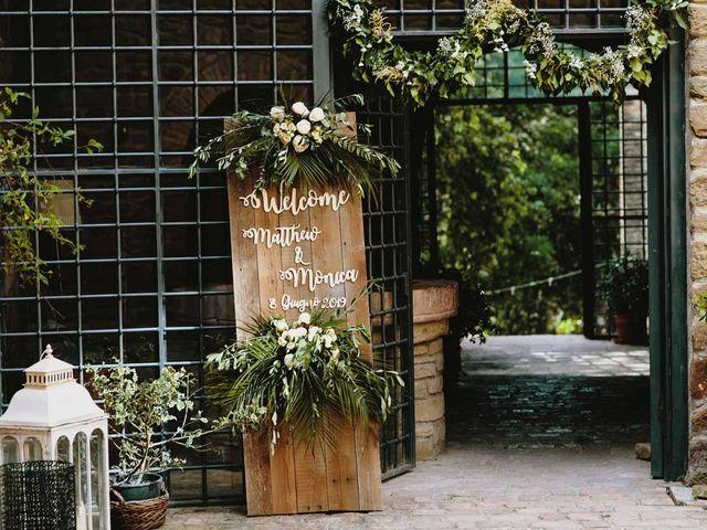 Il matrimonio di Matthew e Monica a Torgiano, Perugia 4